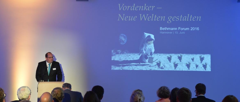 Vortrag Bethmann Forum 2016