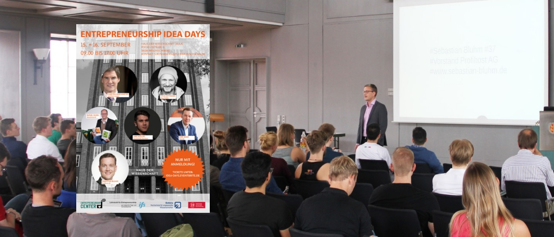 Vortrag Entrepreneurship Idea Days