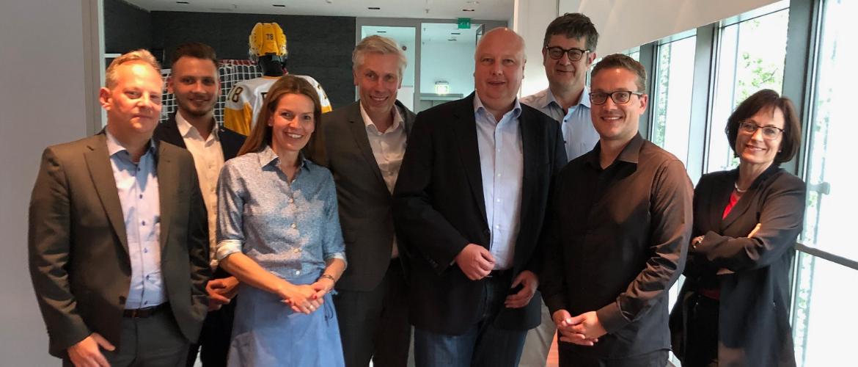 Sitzung Landesfachkommission Digitales Niedersachen mit Jörg Bode